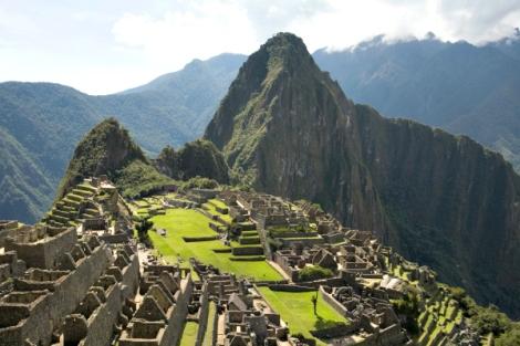 Machu Picchu. Fuente: Promperú.