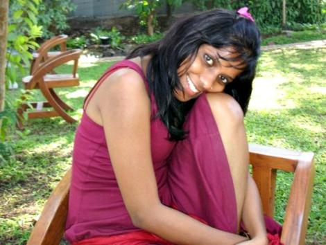 Srish, amiga mía aquí en el resort de Osho